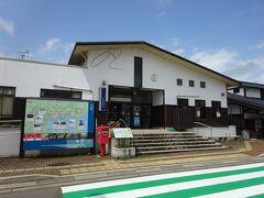 これが穴水駅の駅舎。