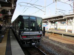 16時18分頃、新快速電車は終点の敦賀駅に到着しました。