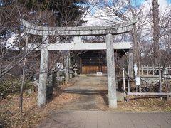 他、本丸内にはこの神社(新城藤原神社)や