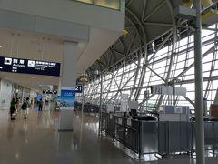 関西空港に無事つきました  梅雨時期だから雨は覚悟してましたが 関西は降っていませんでした。