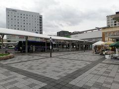 奈良の駅前は意外とふつう