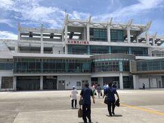 2011年以来9年ぶりの久米島空港。 振り返ってみれば、当時も観光で訪れたのではなく、アイランドホッピング等でのJAL回数修行での来訪でした。