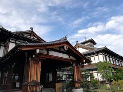 奈良ホテルにつきました  ついたころにはもう 青空が
