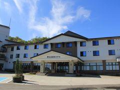 浄土平から磐梯吾妻スカイラインを経由して20分程で、今日の目的地土湯峠温泉郷の「野地温泉ホテル」に到着。  写真は翌日、天気も良くなりました。