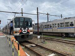 北熊本駅到着