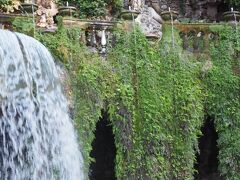 楕円の噴水