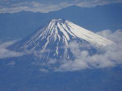 富士山をパシャ。
