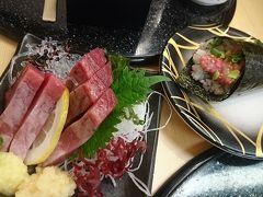 シメは駅ナカにあるお寿司やで大宴会。回転寿司のお店なのに酒肴ばっかり頼んで痛飲~。へべれけで新幹線に乗り込み、旅を終えることになりました。