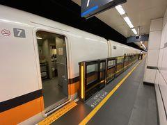 14時、台北駅到着。 台北駅が終点で無くなってしまったので、グズグズしてられません(^^;;