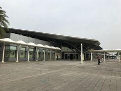 急いでホテルに荷物を取りに戻って、タクシーで新幹線の駅まで移動。