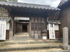 続いて長州藩のお医者さん、青木周弼の邸宅。