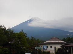 こちらは休憩した道の駅なるさわで撮った富士山。