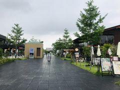 この辺りはオシャレなカフェやダイニングが並ぶエリアなのですが、美術館の閉館まであと2時間しかないので先を急ぎます。  と、ここで雨が降り出しました。