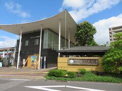 ホテルの裏手が、一畑電車の「松江しんじ湖温泉」駅。