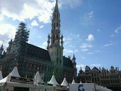 やってきましたグランプラス。 ブリュッセルと言えば、ココ。