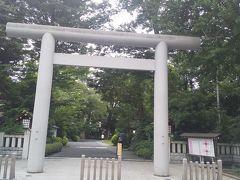 阿佐ヶ谷にある神社。 有名な神社だが初めて参拝