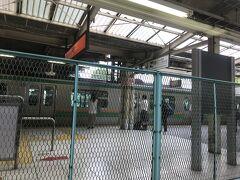 東武動物公園駅から少し走って久喜駅に到着です。