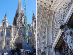 初日に見学できなかったサンタ・エウラリア大聖堂へ。 ちょうど見学できる時間帯だったので堂内へ。