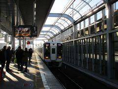 8時少し前にチェックアウトを済ませ、南海電車で関西国際空港に向かいます。
