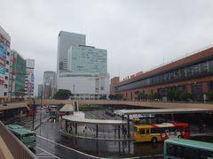 いつもの仙台駅。この写真もすっかりルーティンになりました。
