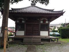 法栄山 東光寺 薬師堂が本堂の左側にありました。