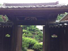 豊泉寺の庭園は庭師が禅の庭を作ったということです。