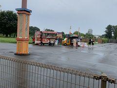 西武動物公園内には、いくつかのレストランがありますが、移動式のケバブ屋さんもありました。