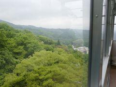 新緑が彩る、伊香保の山々を車窓に愛でれば、あっという間に下山完了。