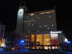 夕食の腹ごなしの為、歩いてホテルまで。15分程歩いて本日宿泊するこちらホテルブエナビスタ到着。2020年に創業100年を迎えるアルピコグループに属するホテルです。
