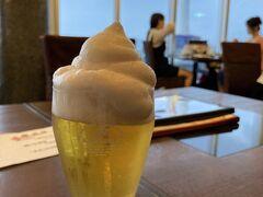 市場小路 ジェイアール京都伊勢丹店 https://www.star-kyoto.co.jp/restaurant/shop-1/  駅から出たくなかったので、こちらでおつかれさんの1杯。京都タワーとフローズン生のコラボ☆感染症対策のため、テーブル席だけど横並びで。