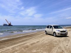 海岸ドライブ!!(レンタカー