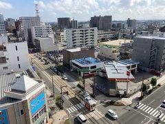 2日目。 富山市内からおはようございます。