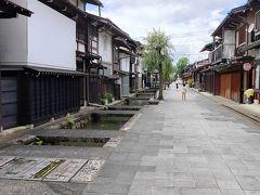 参拝終え、休憩をするため白壁土蔵の街並み方面に戻ります。