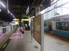 有楽町駅から 浜松町駅まで 山手線乗車しました。