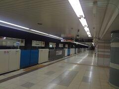天空橋駅で途中下車しました。