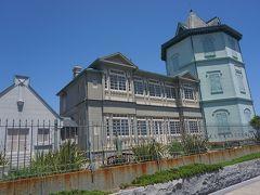 ●孫文記念館@舞子公園  日本で唯一の孫文の記念館。 八角形の「移情閣」は、現存する最古のコンクリートブロック建造物で、国の重要文化財に指定されています。ちなみに1915年の建築だそうです。