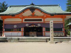 ●住吉神社  住吉神社は、海路の神として古来より崇敬を受けてきた神社のようです。 ここは、目の前が海なんです。