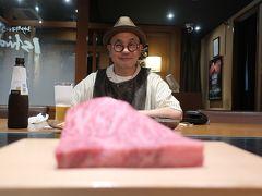 三宮に戻ってランチにしましょう。 せっかく神戸にいるんだから神戸ビーフでしょ(^^)/  神戸牛すてーき Ishida. 本店で 神戸牛ランチロース150グラムをいただきます!