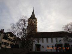 聖ペーター教会・・・ チューリッヒで最も古い教会らしいです!!