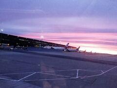 早朝のウィーンに到着しました。