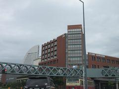 国際協力機構(JICA)横浜国際センターも見えます。