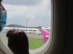 11:05 鹿児島空港に着陸 雨は降っていません