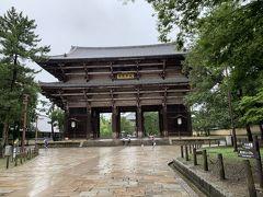 東大寺、南大門にやってきました。