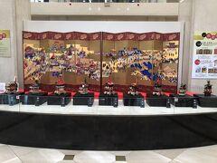 京都高島屋にも山鉾のミニチュアが並んでました♪