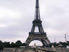 次の日 とにかくエッフェル塔へ。 凱旋門をグルグル周り、迷いながら着く。疲れた。