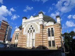 セントラル・ハリの西側にある1909年創建のソフィア・シナゴーグ