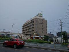ホテルに帰って来ました。