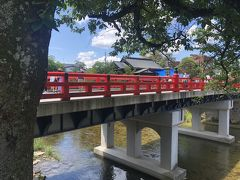 宮川中橋を通ってホテルに戻ります。