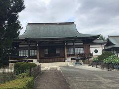 正福寺本堂です。 鎌倉時代の禅宗、臨済宗です。 お寺参りも勉強になります。 空海和尚の真言宗のお寺を周っていますが、 座禅の禅宗は達磨さんから5家の内、鎌倉時代に伝わった臨済宗と曹洞宗だそうです。