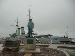 メインの施設である記念艦三笠はさすがの貫禄であり圧倒される。